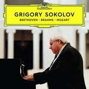 Grigory Sokolov - Beethoven/Brahms/Mozart - Cover