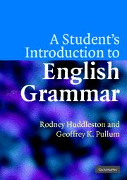 A Student's Introduction to English Grammar - Cover