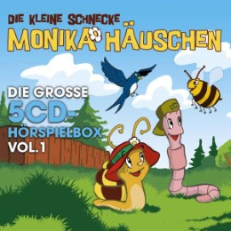 Monika Häuschen - Die große 5CD-Hörspielbox Vol. 1