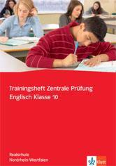 Trainingsheft Zentrale Prüfung Englisch', NRW, Rs
