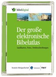 Der große elektronische Bibelatlas - Cover