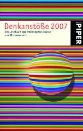 Denkanstöße 2007