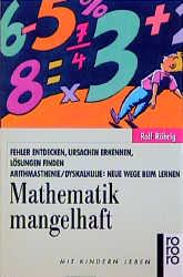 Mathematik mangelhaft