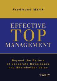 Effective Top Management