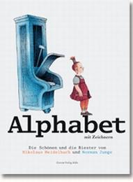 Alphabet mit Zeichnern