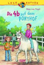 Die 4b auf dem Ponyhof