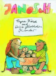 Papa Löwe und seine glücklichen Kinder - Cover