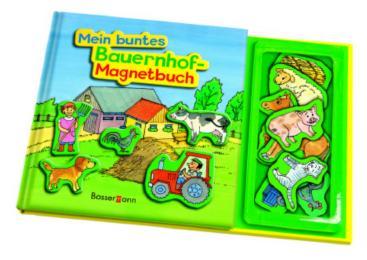 Mein buntes Bauernhof-Magnetbuch