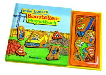 Mein buntes Baustellen-Magnetbuch