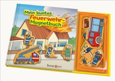 Mein buntes Feuerwehr-Magnet-Buch