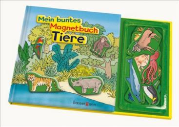 Mein buntes Magnetbuch: Tiere