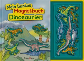 Mein buntes Magnetbuch Dinosaurier