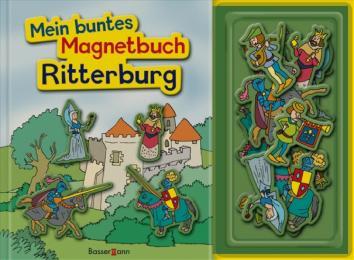 Mein buntes Magnetbuch Ritterburg