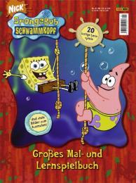 Großes Mal- und Lernspielbuch