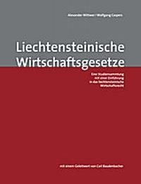 Liechtensteinische Wirtschaftsgesetze