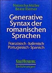 Generative Syntax der romanischen Sprachen