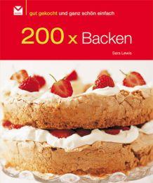 200 x Backen