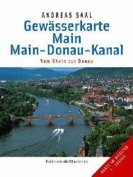 Gewässerkarte Main/Main-Donau-Kanal