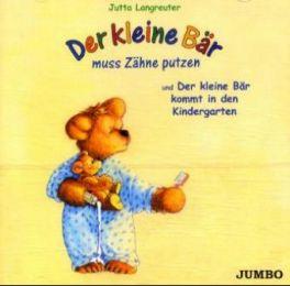 Der kleine Bär muss Zähne putzen/Der kleine Bär kommt in den Kindergarten