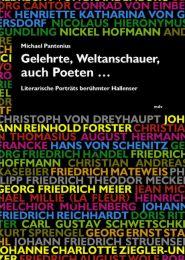 Gelehrte, Weltanschauer, auch Poeten...