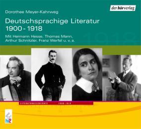 Deutschsprachige Literatur 1900-1918
