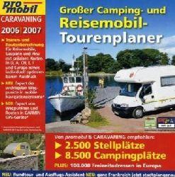 Großer Camping- und Reisemobil-Tourenplaner