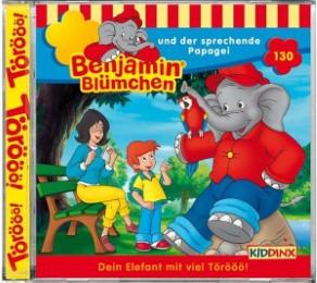 Benjamin Blümchen 130 und der sprechende Papagei