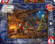 Der Weihnachtsmann und seine Wichtel