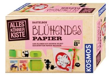 Bastelbox - Blühendes Papier
