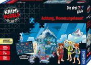 Krimi-Puzzle: Die drei ??? Kids - Achtung, Meeresungeheuer!