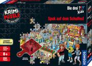 Krimi-Puzzle ??? Kids - Spuk auf dem Schulfest