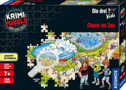 Krimi-Puzzle ??? Kids - Chaos im Zoo - Cover