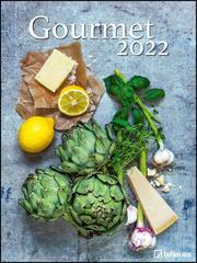 Gourmet 2022 - Foto-Kalender - Poster-Kalender - 48x64 - Rezepte - Küche