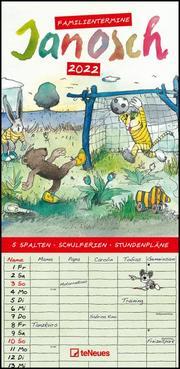Janosch 2022 Familienplaner - Familien-Timer - Termin-Planer - Kinder-Kalender - Familien-Kalender - 22x45