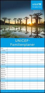 UNICEF 2022 Familienplaner - Familien-Timer - Termin-Planer - Kinder-Kalender - Familien-Kalender - Wohltätigkeits-Kalender - 22x45