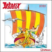 Asterix 2022 - Wand-Kalender - Broschüren-Kalender - 30x30 - 30x60 geöffnet - Cartoon
