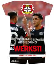Bayer 04 Leverkusen Trikotkalender 2022