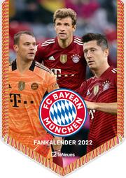 FC Bayern München Mini-Bannerkalender 2022