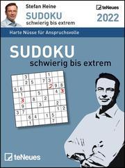 Sudoku schwierig bis extrem 2022