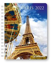 Paris 2022 - Diary - Buchkalender - Taschenkalender - 16,5x21,6