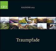 GEO Klassiker: Traumpfade 2022 - Wand-Kalender - Reise-Kalender - 60x55