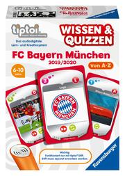 tiptoi Wissen & Quizzen - FC Bayern München 2019/2020 von A-Z - Cover