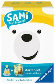 SAMi, dein Lesebär, Starter-Set - Der größte Schatz der Welt