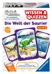 tiptoi Wissen & Quizzen - Die Welt der Saurier von A-Z - Cover