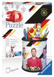 Ravensburger 3D Puzzle 11240 - Utensilo Die Mannschaft - 54 Teile - Stiftehalter für Fans der deutschen Nationalmannschaft ab 6 Jahren, Schreibtisch-Organizer für Kinder