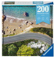 Ravensburger Puzzle - Beachroad - 200 Teile Puzzle Moment