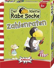 Der kleine Rabe Socke - Zahlenraten - Cover