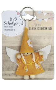 Schlüsselanhänger Schutzengel 'Für das Geburtstagskind' - Cover