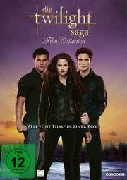 Die Twilight Saga 1-5