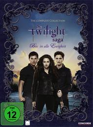 Die Twilight Saga 1-4
